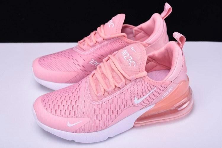 best sneakers 3a755 c5e60 tenis nike air max 270 para niña rosa con blanco, zapatillas