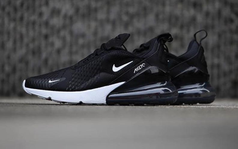 3c8e4feee Tenis Nike Air Max 270 P caballero Negro blanco (1) -   2