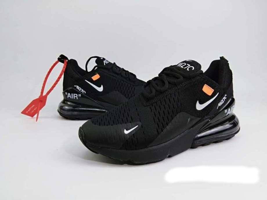 Tenis Nike Air Max 270 Tm Negros Unisex 0befaf21584