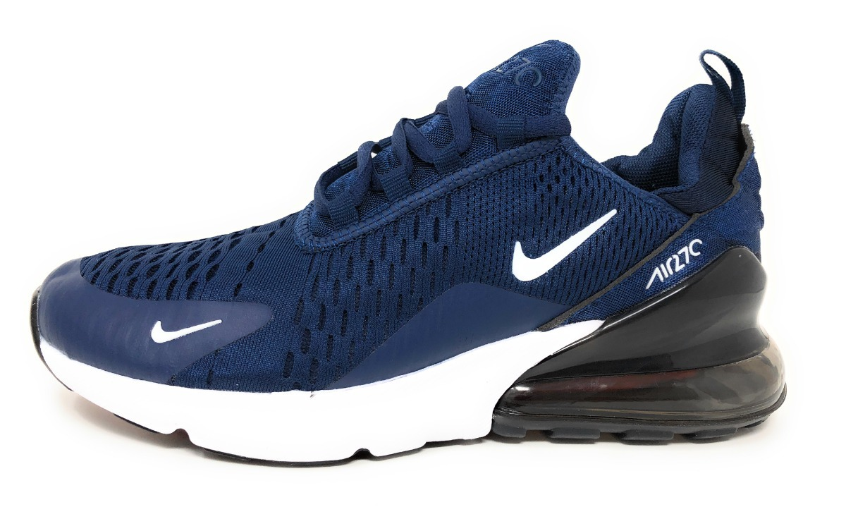 reputable site 6c748 e42c1 tenis nike air max 270 triple blue hombre. Cargando zoom.