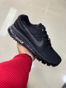 san francisco 826e8 eaaa2 Tenis Nike Air Max 360 Black Negra Original Hombre Mujer