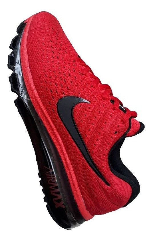 zapatillas rojas hombre nike air