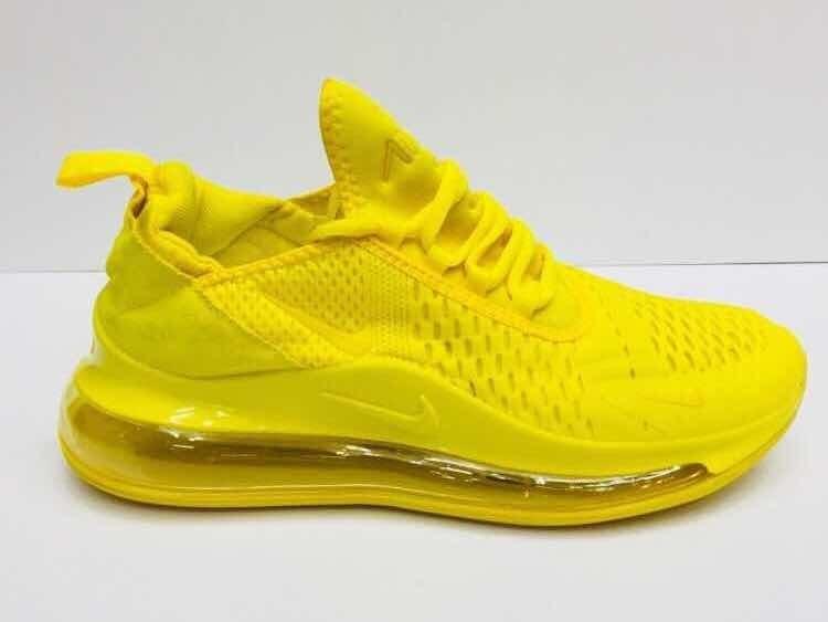 Tenis Nike Air Max 720 Amarillo