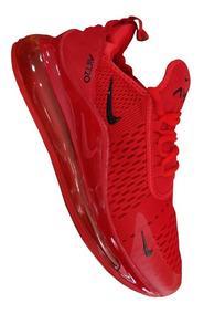 Tenis Nike Air Max 720 Rojo Hombre Zapatillas Originales