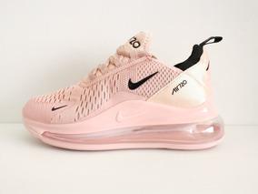 nike mujer zapatillas casual rosa claro