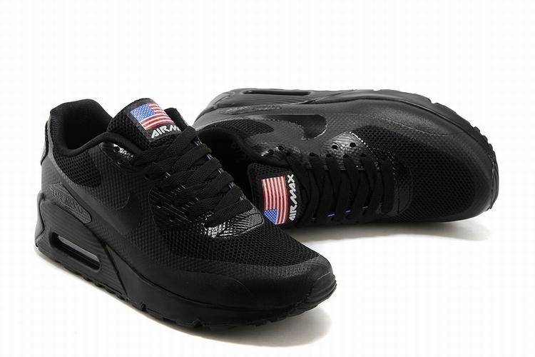 quality design 446e2 28de6 Tenis Nike Air Max 90 American Flag Black