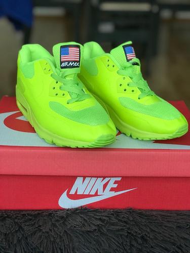 Tenis Nike Air Max 90 American Flag Yellow