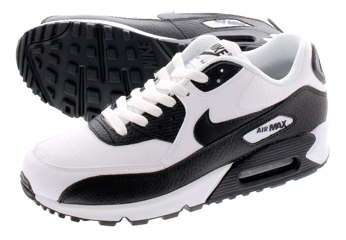 Tenis Nike Air Max 90 Blanco C Negro #25, Cm Buen Fin