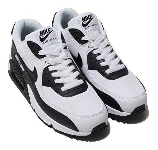 Tenis Nike Air Max 90 Blanco C Negro Num. 24,24.5 Mx Msi
