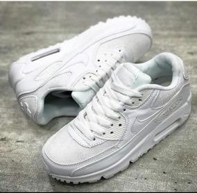 Tenis Nike Air Max 90 Blancos Unisex, Zapatillas.