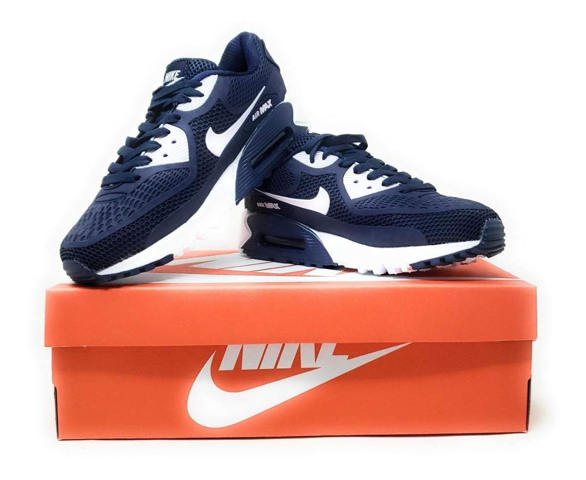 Tenis Nike Air Max 90 Blue Hombre Oferta