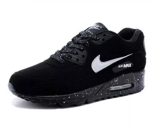 578d7fb500a Tenis Nike Air Max 90 Branco E Preto - R  85