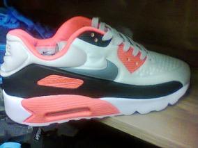low priced d5d69 d5255 Tenis Nike Air Max 90 Br preto E Laranja Nº38 Ao 43 Original