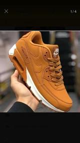 322366ea7f4 Cal As Caramelo Masculino Nike Air Max - Calçados