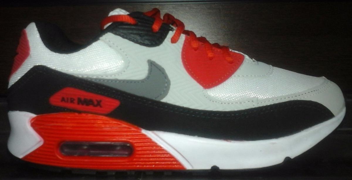 outlet store 7e066 0c68e tenis nike air max 90 cinza e vermelho nº37 ao 43 original. Carregando zoom.
