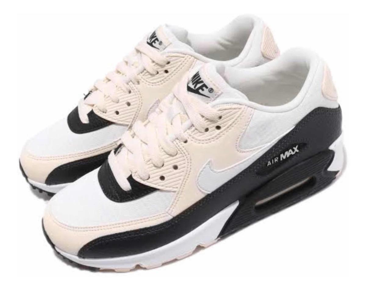 Tenis Nike Air Max 90 Crema (#24 Y #24.5 Cm) 100% Originales