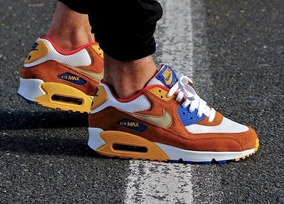 Tenis Nike Air Max 90 Curry Hombre Dama Mujer Caballero Airmax