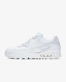 Tenis Nike Air Max 90 Essential Blanco White Mujer Dama 2019