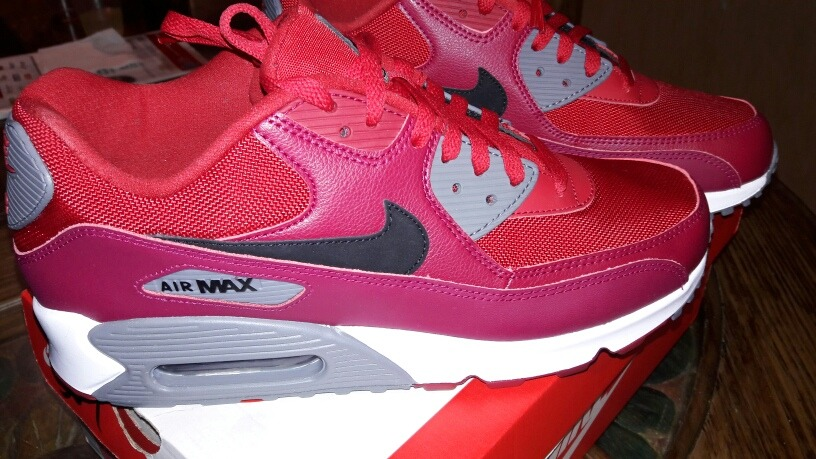 new arrival 39b8d 02d74 tenis nike air max 90 essential red gym 100% originales. Cargando zoom.