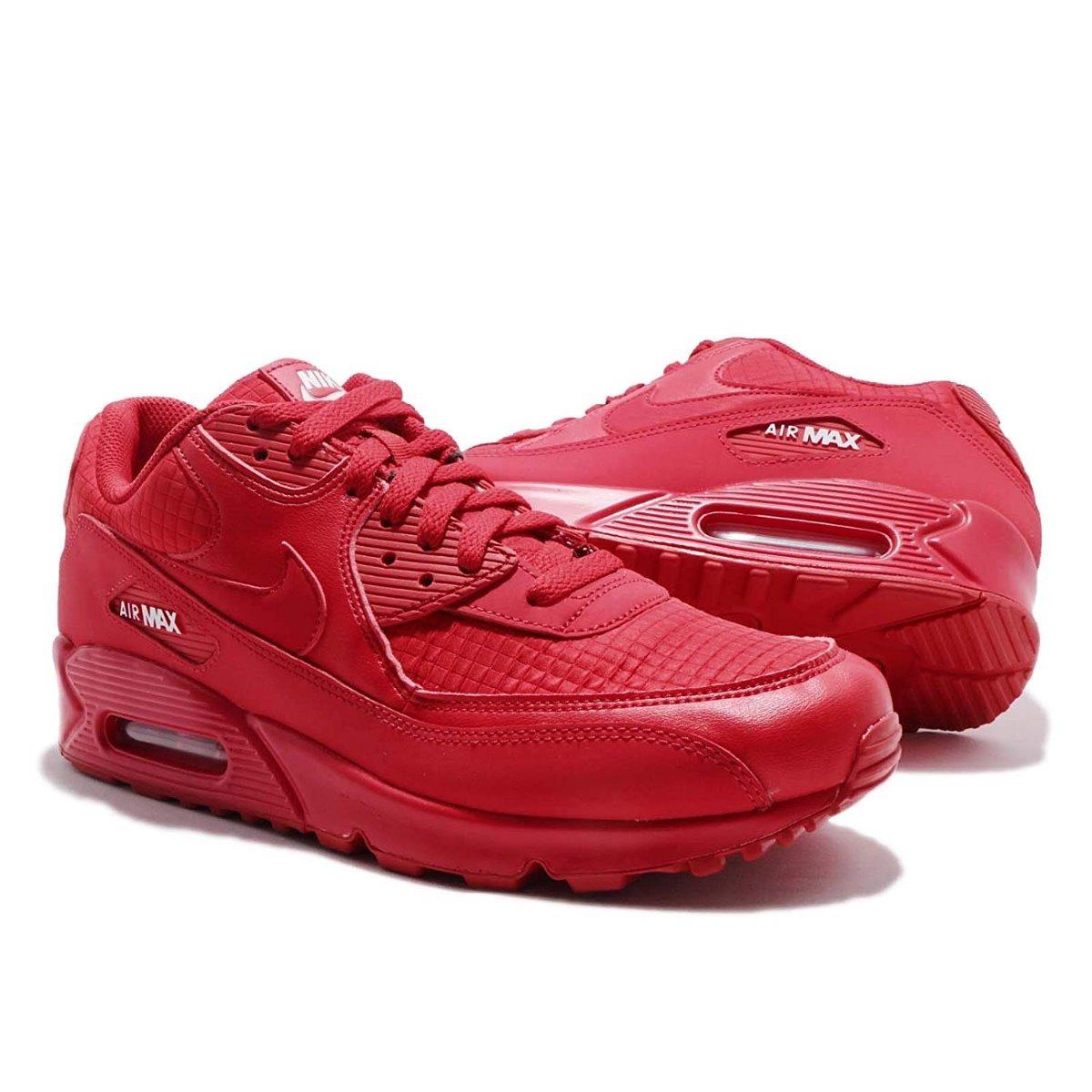 Tenis Nike Air Max 90 Essential Rojo #8.5 Mx Originales