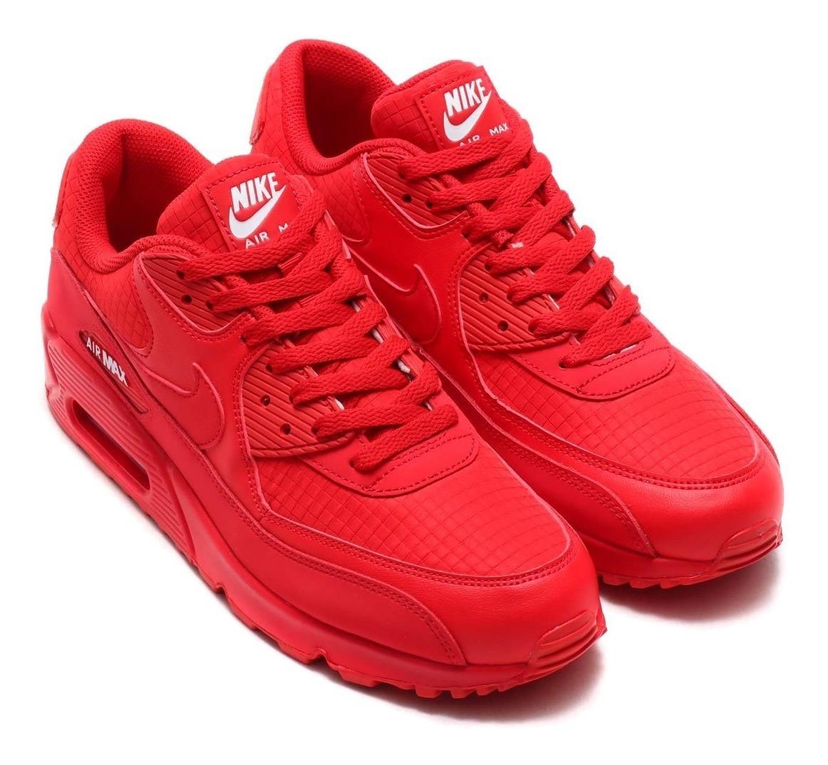 Tenis Nike Air Max 90 Essential Rojo #8.5 Originales