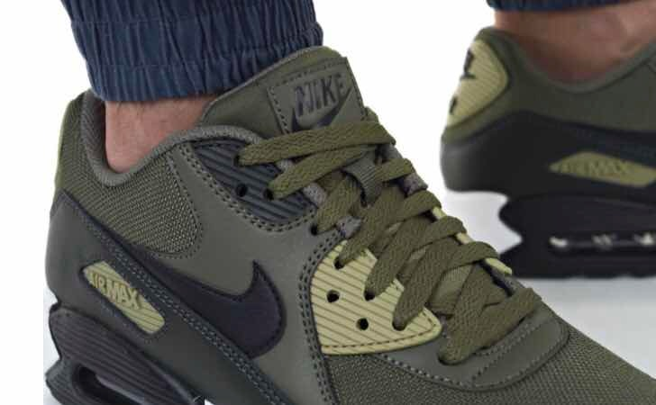 nike air max uomo 90 essential verdi