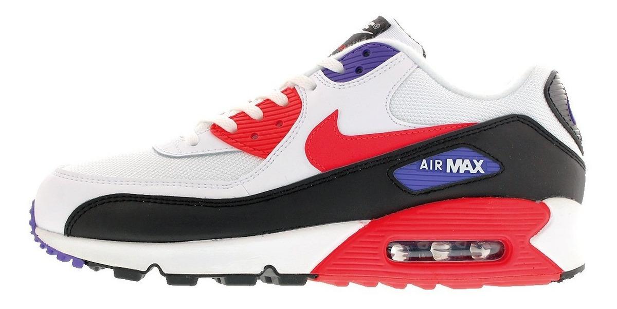 Tenis Nike Air Max 90 Essential White Tallas #25½ A #26½ Psd