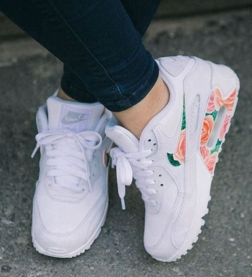 best service 1fb6e 4e84a tenis nike air max 90 flores mujer ...