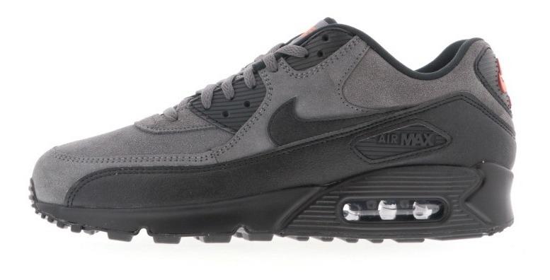 Tenis Nike Air Max 90 Gris Tallas Del #26 Al #28 Hombre Psd