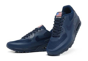 5c72003a495 Nike Air Max 90 Independence Day Preto Masculino Force - Tênis no ...