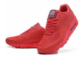 air max 90 rojas mujer