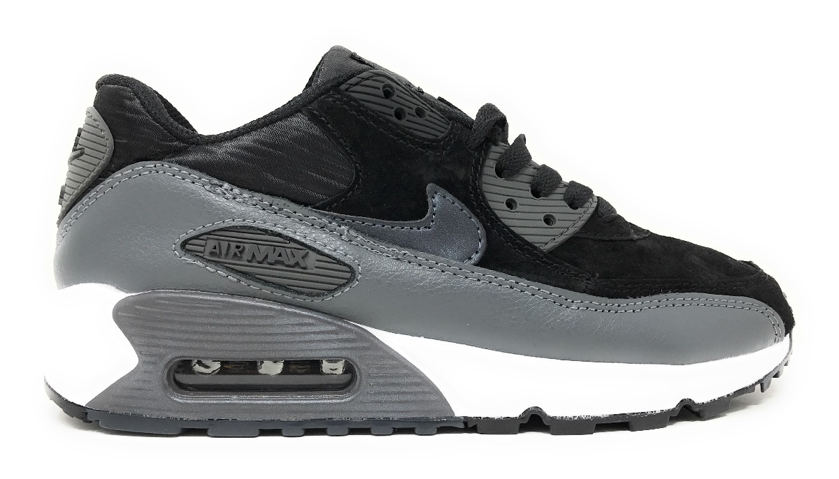 uk availability cba45 98172 wholesale nike air max 90 leather grey 9b061 2f8ca