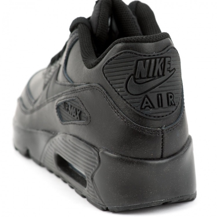 new product a48a0 93294 tenis nike air max 90 leather (gs) 833412-001 originales.