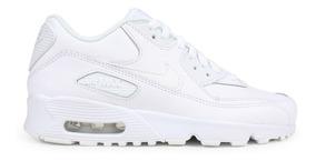 Tenis Nike Air Max 90 Ltr Blanco Talla #22½ A #25 Mujer Psd