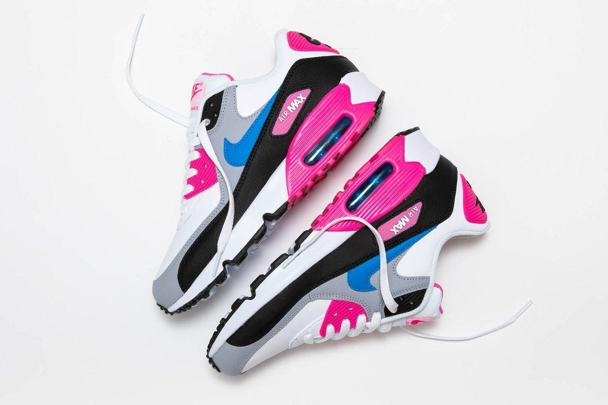 Tenis Nike Air Max 90 Ltr Blanco,gris,rosa,azul,negro,nuevo