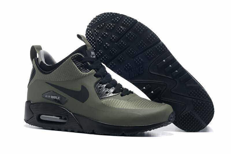 sports shoes 260fb ee512 Tenis Nike Air Max 90 Mid Winter Green