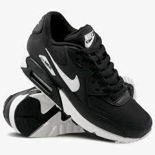 Tenis Nike Air Max 90 Negro C Blanco #24.5 Cm