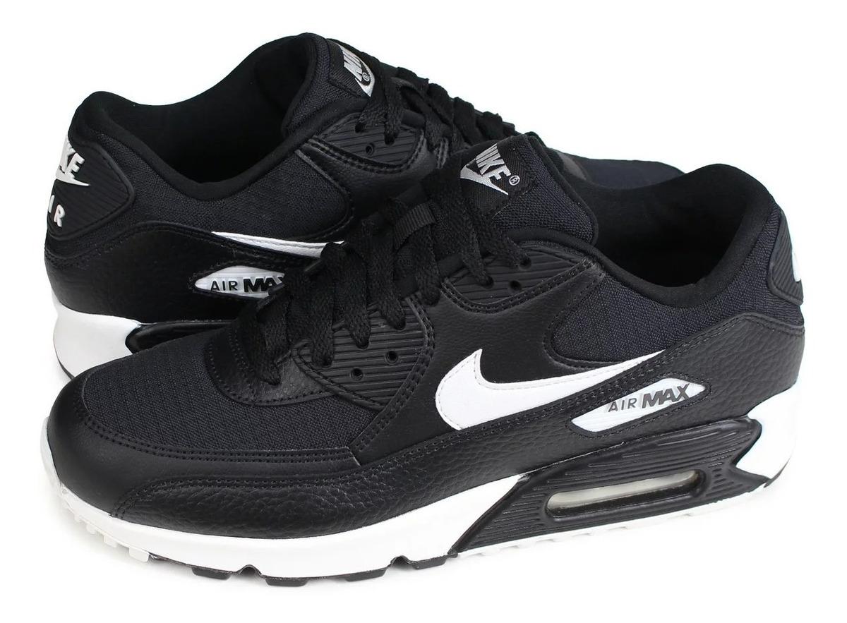 Tenis Nike Air Max 90 Negro Cblanco Original # 24.5 Mx