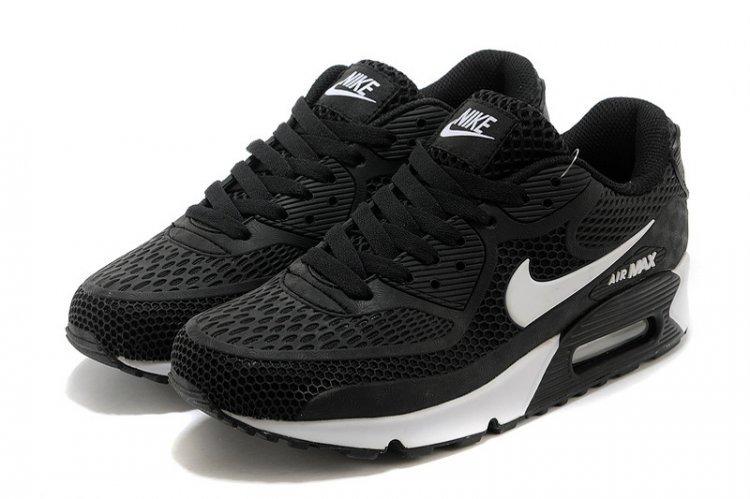 b4c792a0460 Tenis Nike Air Max 90 Nuevos Orignales Black White Hombre ...