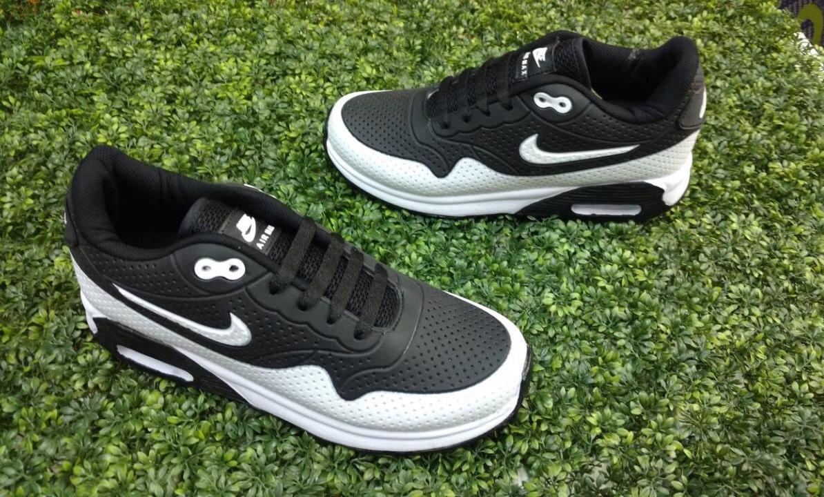 ... low price tenis nike air max 90 para caballero blanco negro. cargando  zoom. df4d1 b54fbe0dc079b