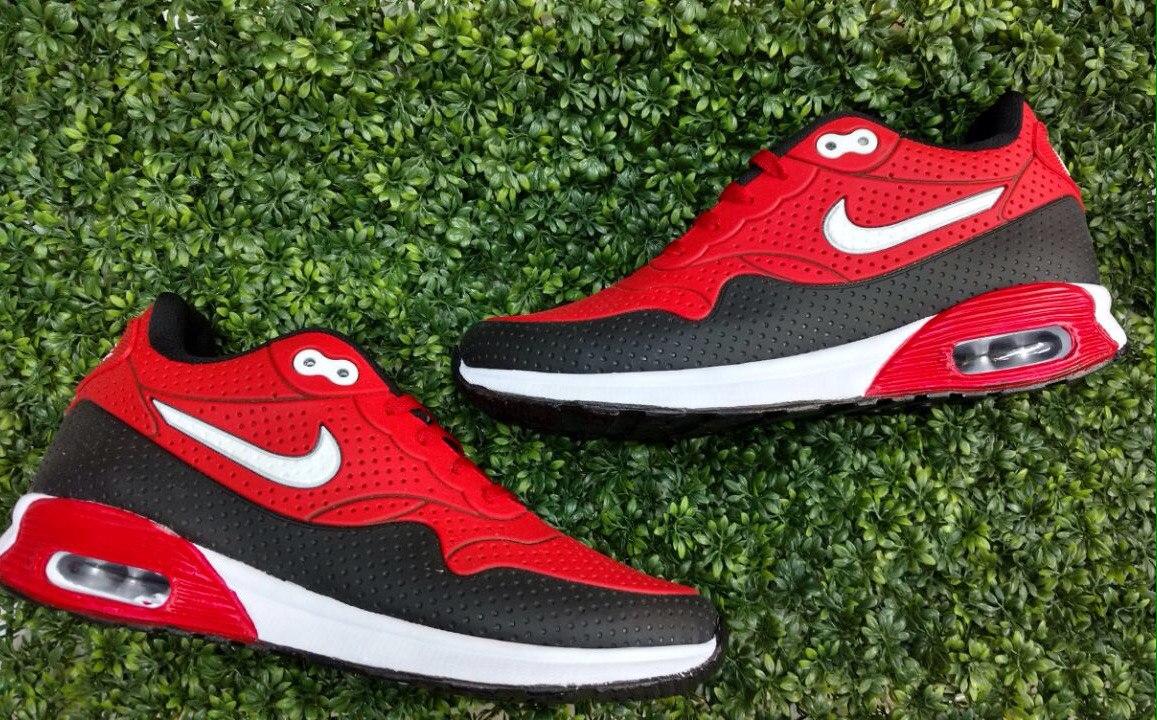 86a4efdfb Tenis Nike Air Max 90 Para Caballero Negro Rojo - $ 599.00 en ...