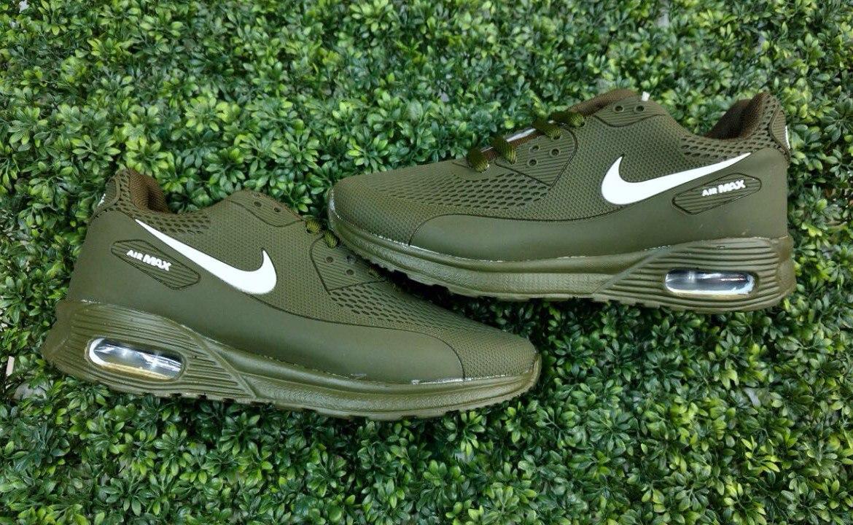 air max verde militar