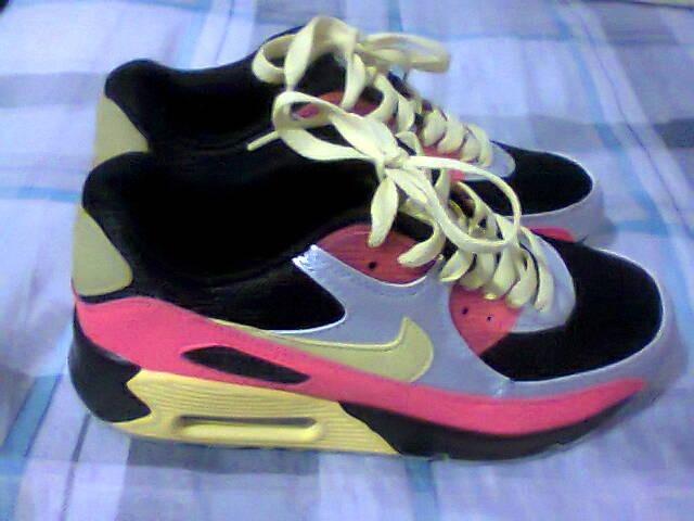 quality design cea34 d178f tenis nike air max 90 preto e rosa nº34 original na caixa