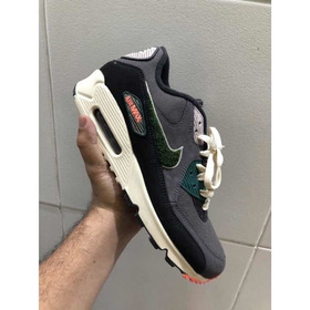 Tênis Nike Air Max 90 Prm Se Oil Grey Rainforest - 42br