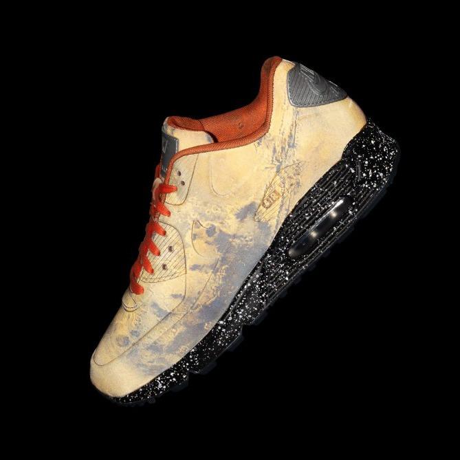 547a67e1ac3 Tenis Nike Air Max 90 Qs Mars Landing Reflexivo Marte - R  1.099