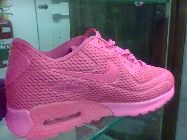 71617455c5e Tenis Nike Air Max 90 Rosa Chilete Nº34 Ao 39 Original - R  550