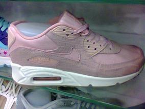 881044b1c18 Tenis Nike Air Max 90 Rosa E Branco Nº38 Original Na Caixa