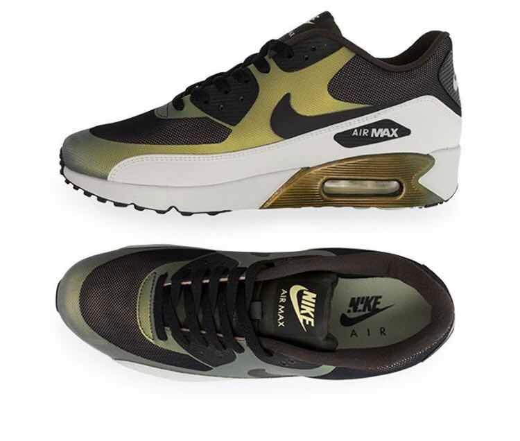 0ea82233b Tenis Nike Air Max 90 Ultra 2.0   Verde  8 Mx    C  Caja ...