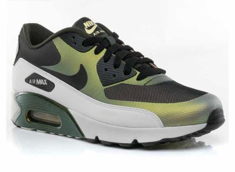 Tenis Nike Air Max 90 Ultra 2.0 Verde #8 Mx C Caja