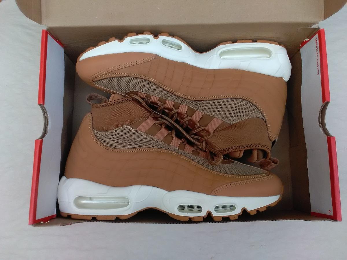 sports shoes 36125 d2632 Tenis Nike Air Max 95 Sneakerboot Flax 100% Originales